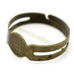 Baza inel ajustabil, bronz antichizat- 16.5mm