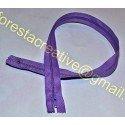 Fermoar Normal 50cm - Zimti Plastic - Lila