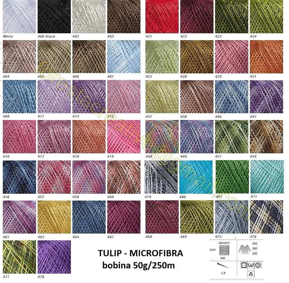YarnArt Tulip Microfibra