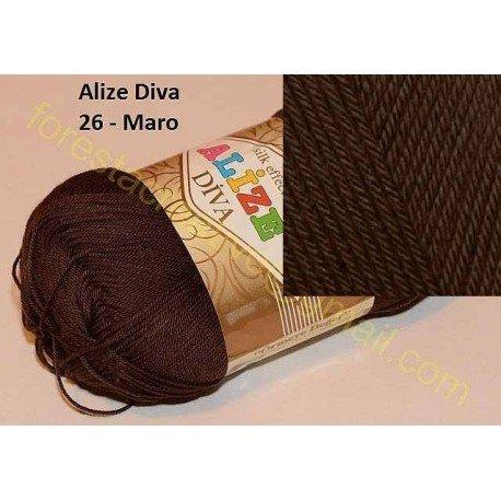 Alize Diva Silk Effect - de la 8.5 lei bobina
