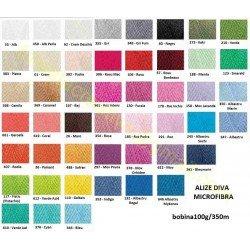 Alize Diva Silk Effect - de la 8 lei bobina