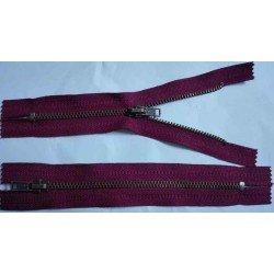 Fermoar Metalic Visiniu Zimti Bronz - 14cm *2buc*