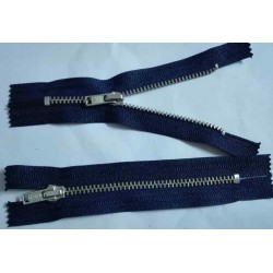 Fermoar Metalic Bleumarin - 11cm *4buc*
