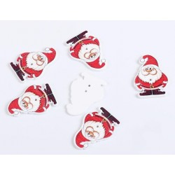 Nasturi Ornament Craciun Mos Craciun *set 5buc*