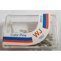 Cutie bolduri - gamalie alba, 32mm * set 50bucati*