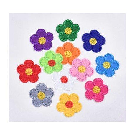 Aplicatie Brodata Floare - 50mm *set 5bucati