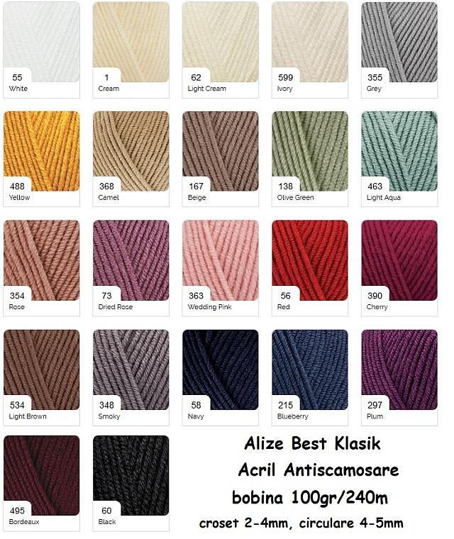 Alize best Klasik fir antiscamosare